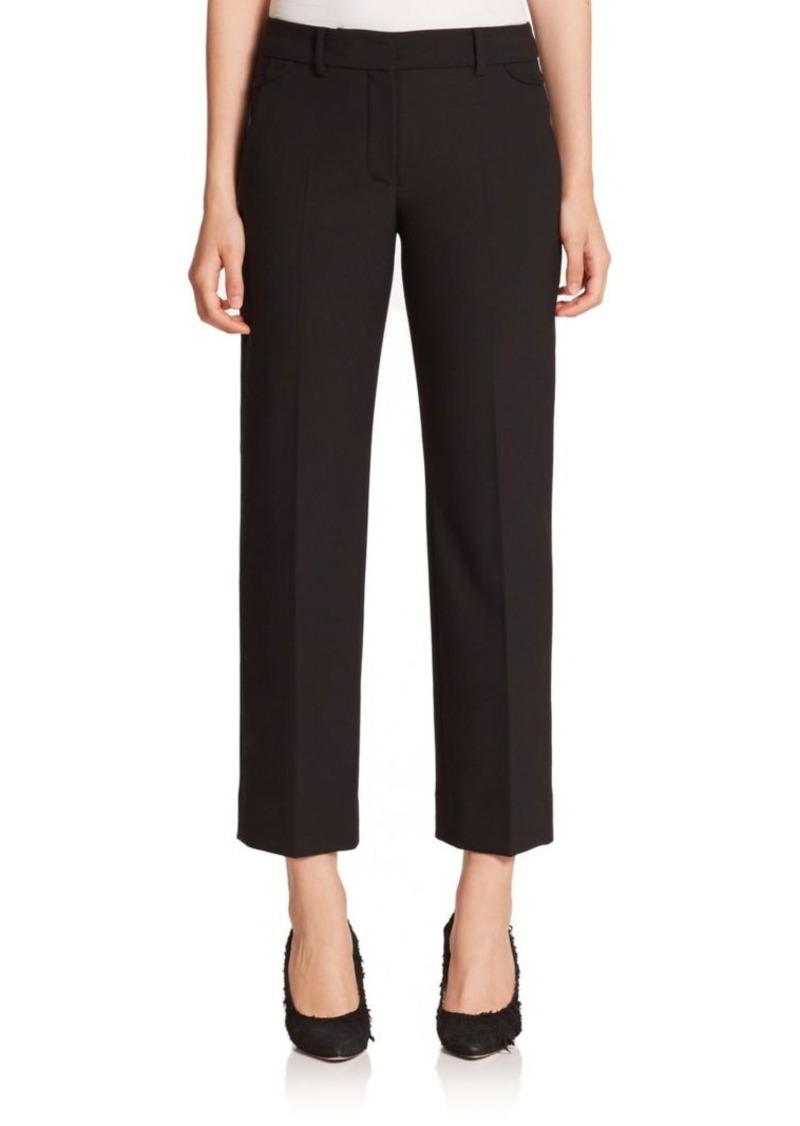 Helmut Lang Stretch Wool Bonded-Hem Pants