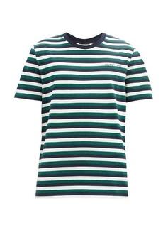 Helmut Lang Striped cotton-jersey T-shirt