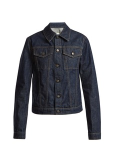 Helmut Lang Striped denim jacket