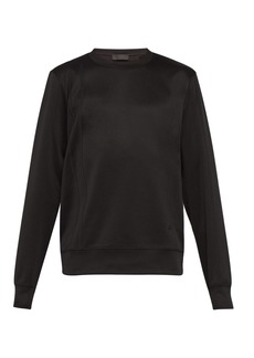 Helmut Lang Striped technical-jersey sweatshirt
