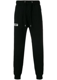 Helmut Lang tapered tracksuit bottoms - Black