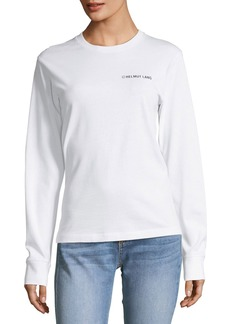 Helmut Lang Taxi-Graphic Long-Sleeve Sweatshirt