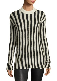 Helmut Lang Technical Striped Pullover