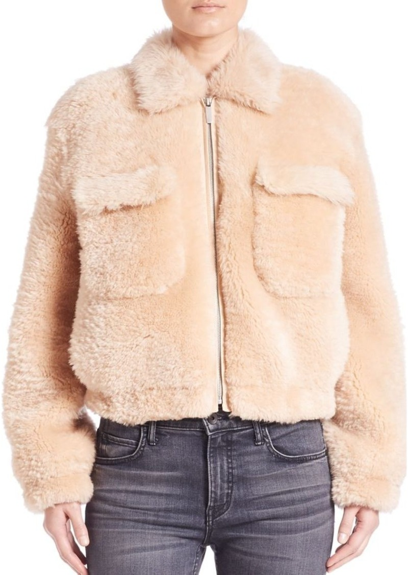 Helmut Lang Teddy Shearling Jacket