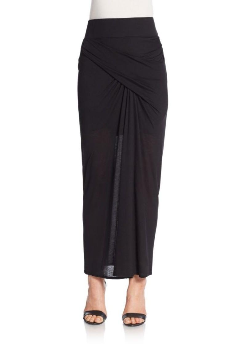 Helmut Lang Tencel Maxi Skirt