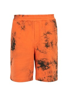 Helmut Lang Tie-dye cotton shorts