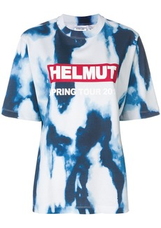 Helmut Lang tie dyed T-shirt - Multicolour