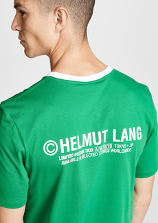Helmut Lang Tokyo Taxi Tee
