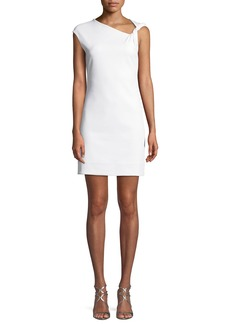 Helmut Lang Twisted Mini Tank Dress