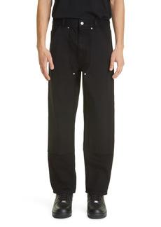 Helmut Lang Utility Straight Leg Jeans