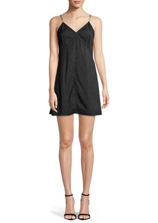 Helmut Lang V-Neck Mini Slip Dress