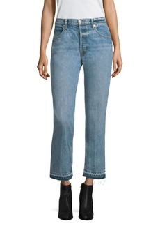 Helmut Lang Vintage Crease Straight Jeans