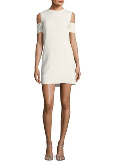 Helmut Lang Viscose-Stretch Arm-Cuff Dress