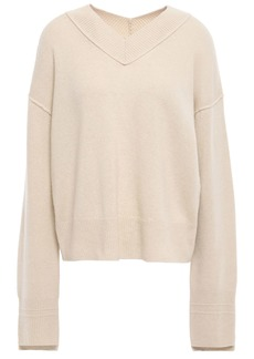 Helmut Lang Woman Cashmere Sweater Beige