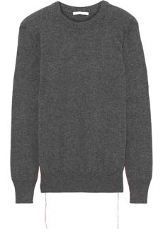 Helmut Lang Woman Cashmere Sweater Charcoal