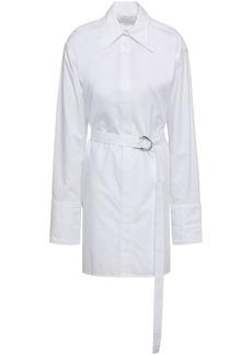 Helmut Lang Woman Cotton Mini Shirtdress White