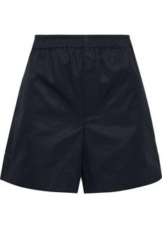Helmut Lang Woman Cotton-twill Shorts Black