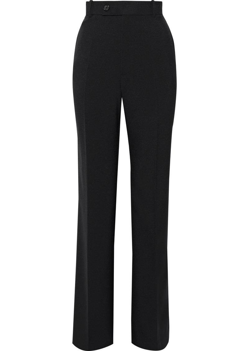 Helmut Lang Woman Crepe Straight-leg Pants Black