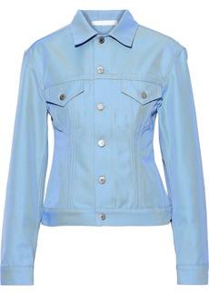 Helmut Lang Woman Denim Jacket Light Blue