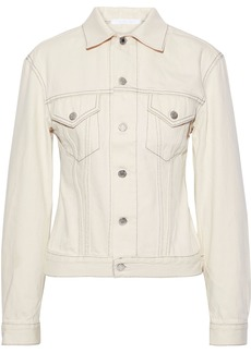 Helmut Lang Woman Denim Jacket Neutral