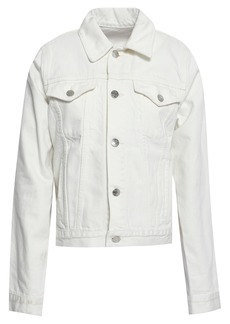 Helmut Lang Woman Denim Jacket White