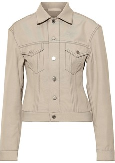 Helmut Lang Woman Denim Jacket Beige