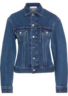 Helmut Lang Woman Femme Trucker Denim Jacket Mid Denim
