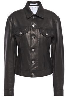 Helmut Lang Woman Leather Jacket Black