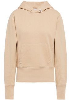 Helmut Lang Woman French Cotton-terry Hoodie Sand