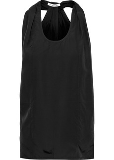 Helmut Lang Woman Knotted Shell Tank Black