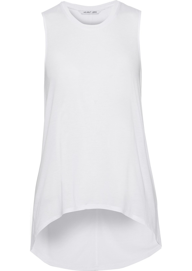Helmut Lang Woman Modal-jersey Tank White