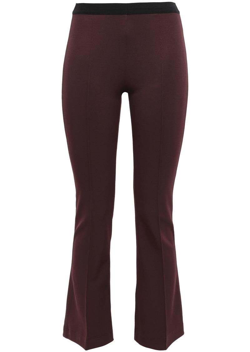Helmut Lang Woman Ponte Kick-flare Pants Merlot