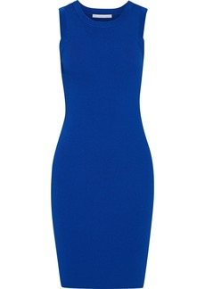 Helmut Lang Woman Ribbed-knit Dress Cobalt Blue