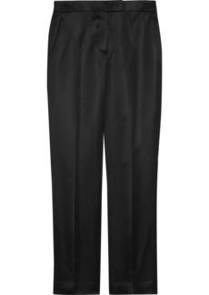 Helmut Lang Woman Satin Straight-leg Pants Black