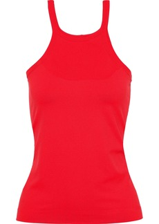 Helmut Lang Woman Stretch-jersey Tank Red