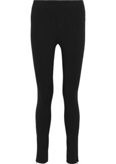 Helmut Lang Woman Stretch-twill Leggings Black