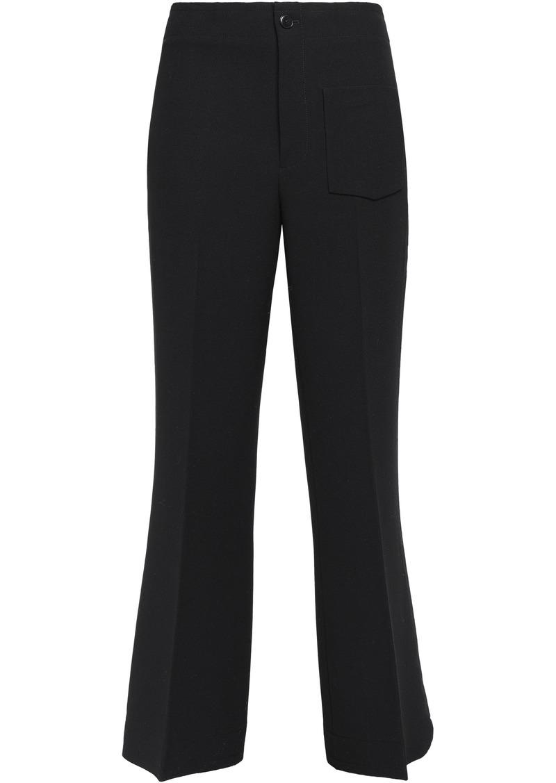 Helmut Lang Woman Twill Bootcut Pants Black