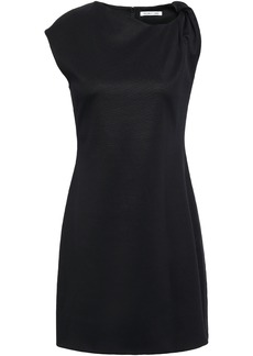 Helmut Lang Woman Twisted Stretch-jersey Mini Dress Black