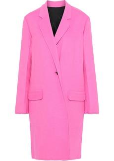 Helmut Lang Woman Wool And Cashmere-blend Felt Coat Bright Pink