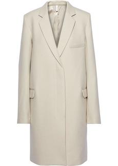 Helmut Lang Woman Wool-felt Coat Ecru