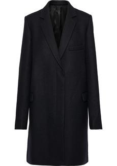 Helmut Lang Woman Wool-felt Coat Black