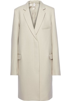 Helmut Lang Woman Wool-felt Coat Ecru