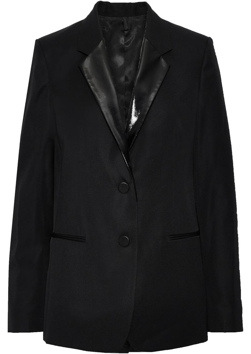 Helmut Lang Woman Wool-twill Blazer Black