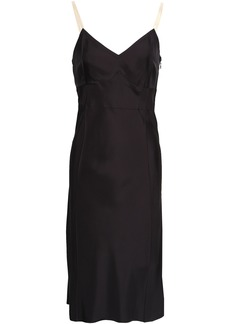 Helmut Lang Woman Woven Dress Black