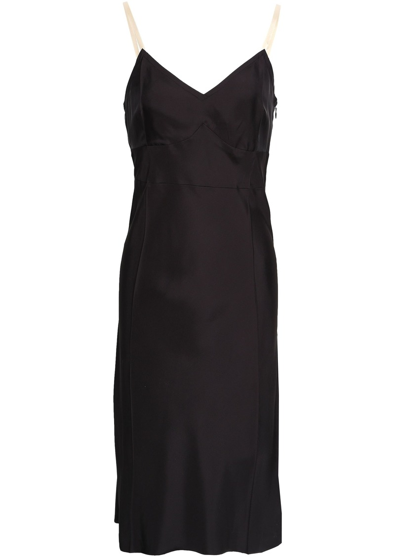 Helmut Lang Woman Woven Dress Black