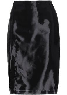 Helmut Lang Woman Woven Skirt Black