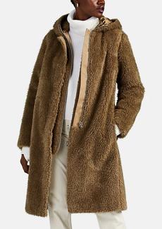 Helmut Lang Women's 2-In-1 Faux-Fur Hooded Coat