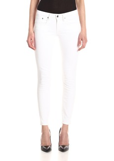 Helmut Lang Women's Ankle Skinny Jean in Ash Wash