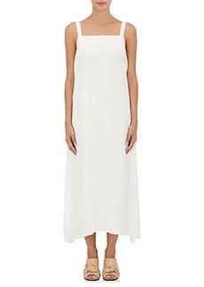 Helmut Lang Women's Apron-Front Column Gown