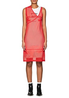 Helmut Lang Women's Athletic Mesh Shift Dress